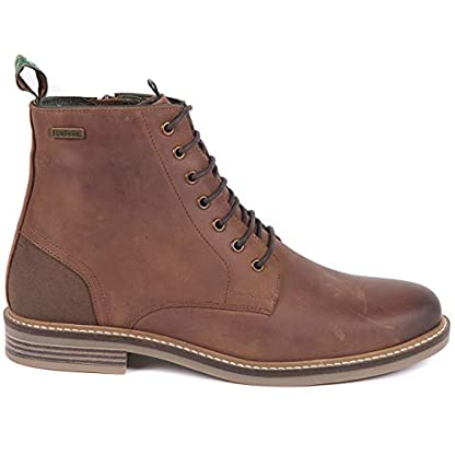 Barbour Mens Seaham Derby Walking Outdoor Hiking Trekking Ankle Boots - Conker 4