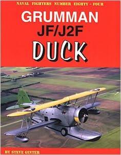 Grumman Jfj2f Duck Naval Fighters 84 Amazoncom Books