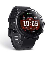 شاومي ساعة ذكية شريط مطاط متوافقة مع اندرويد و اي او اس,اسود - A1619