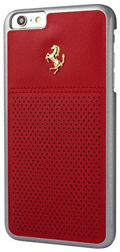 Ferrari GT Berlinetta Perforierte Hard Case mit Logo für Apple iPhone 6 Plus/6S Plus rot/gold