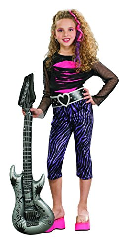 Rubie's Rock Star Child's Costume, (Rock Star Girl Costume)
