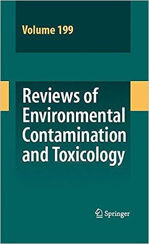 Book Reviews of Environmental Contamination and Toxicology 199