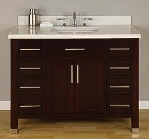 Monaco 42 Bathroom Vanity Set Kitchen Dining