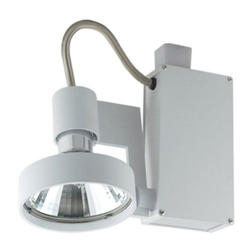 (Jesco Lighting HMH701T6FL70S Contempo 701 Series Metal Halide Track Light Fixture, T6 36-Degree Flood, 70 Watts, Silver Finish)