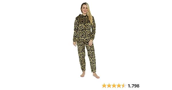 CityComfort Pijama Mujer Invierno, Conjunto de Pijama 2 ...