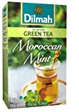 Tea Brands Dilmah with Natural Moroccan Mint 20 Tea Bags Net Wt 30g .1.06oz Green Tea