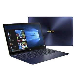 ASUS UX490UA-XS74-BL 14-Inch Zenbook 3 Deluxe Notebook Core i7, 16GB RAM, 512GB SSD, Fingerprint Sensor, Windows Pro, Royal Blue (Renewed)