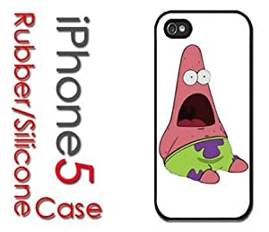 iPhone 5 Rubber Silicone Case - Surpise Patrick Star Spongebob Shocked Look