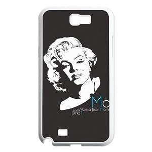 C-EUR Diy Phone Case Marilyn Monroe Pattern Hard Case For Samsung Galaxy Note 2 N7100 Kimberly Kurzendoerfer
