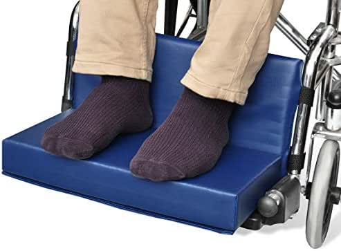 NYOrtho Wheelchair Foot-Rest Extender Elevating Pad - Leg Cushion Protector | Secures Easily with Quick-Release Strap