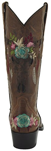 Fashion Women's Cowgirl Boots Boots M50029 Soto Longhorn by fwtpf