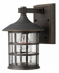 Hinkley Lighting 1800OZ Freeport 1-Light Outdoor Light, Oil Rubbed Bronze