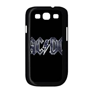 ACDC Band Logo Samsung Galaxy S3 9300 Cell Phone Case Black Fantistics gift XVC_240289
