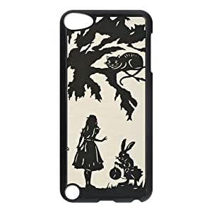 ROBIN YAM- [Alice in Wonderland Cheshire Cat] iPod Touch Generation 5 5th Hard Shell Case Cover -GRY274