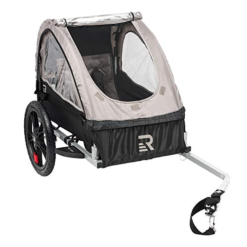 twin baby bike trailer - 7