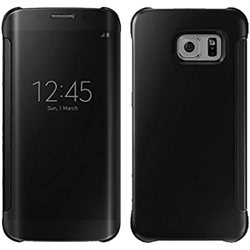 Gravydeals Galaxy S7 All-around protection Case, 2016 Newest Clear Smart View Window Mirror Full Body protection PC Hard Case Cover For Samsung Galaxy Sales