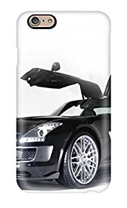 2517054K80541783 Tpu Shockproof/dirt-proof Mercedes Sls Amg 14 Cover Case For Iphone(6)