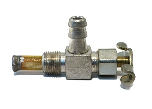 The ROP Shop New Elbow Gas Fuel Tank Cut-Off/Shut-Off Valve PETCOCK for Small Engine Mower