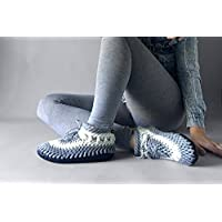 c0f4877839eb8 Demi-Boot Smoothie - Womens Slipper Boots, Womens Moccasins, Hand ...