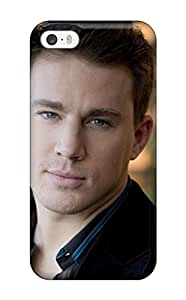 Hot Slim Fit Tpu Protector Shock Absorbent Bumper Channing Tatum Case For Iphone 5/5s