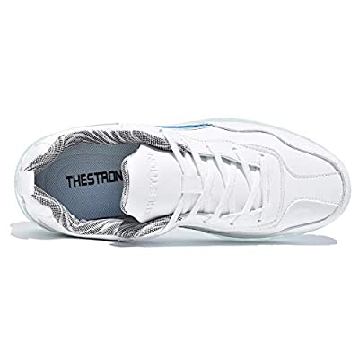 Thestron Women Sport Golf Shoes White Casual Walking Golf Sneakers Training Turf Girls Golf Tennis Shoes ... | Golf