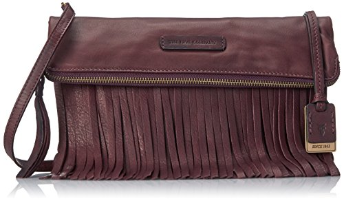 Cross Fringe Heidi Body Plum FRYE Bag vgEyOcyRP