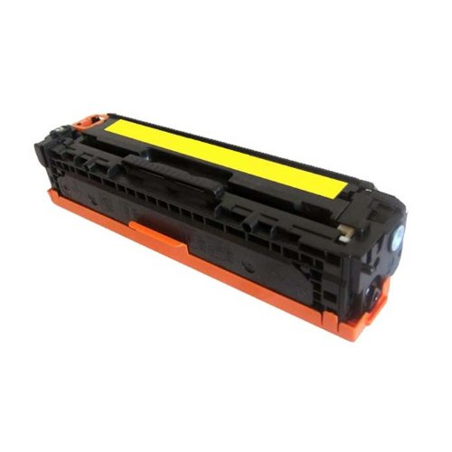 (HI-VISION Compatible HP 125A, CB542A Yellow Toner Cartridge Replacement for Color LaserJet CP1215, Color LaserJet CP1518ni, Color LaserJet CP1515n, Color LaserJet CM1312nfi Multifunction Printer)