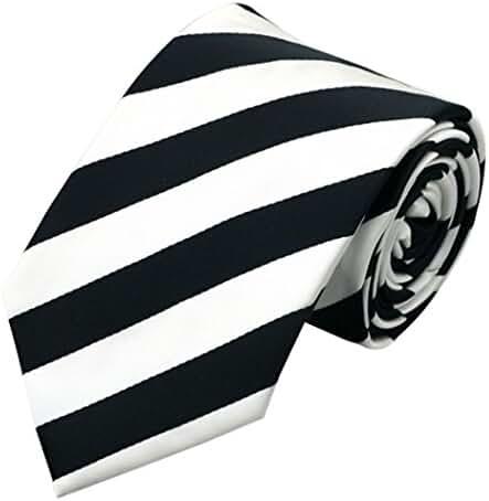 CAOFENVOO Men's Silk Formal Stripes Necktie