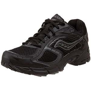 Saucony Men's Grid Cohesion NX Running Shoe,Black/Grey,7 M