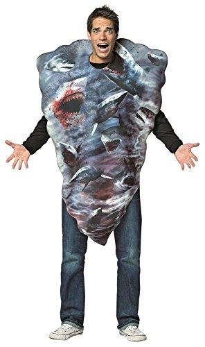Sharknado Tornado Costumes (Rasta Impasta Sharknado Tornado Adult Unisex Costume)
