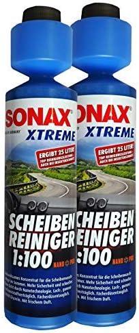 Preisjubel 2 X Sonax Extreme Scheibenreiniger 1 100 Nanopro 250ml Scheibenklar Konzentrat Auto