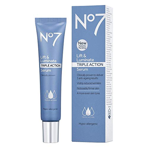 No7 Lift & Luminate Triple Action Serum, 50 ml, Extra Large