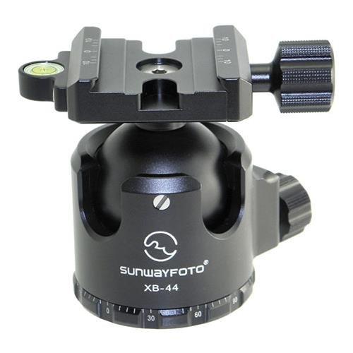 SUNWAYFOTO XB-44 Tripod Ball Head Arca Compatible Low Center of Gravity XB44 Sunway by SUNWAYFOTO