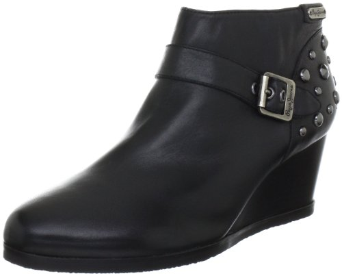 De Negro Botines Fashion London Pfs10534 Jeans Mujer Cuero Para Pepe XfTqwxF6T