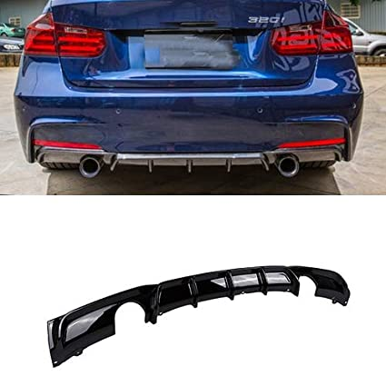Amazon com: FRP Rear Bumper Diffuser Lip For BMW F30 320i