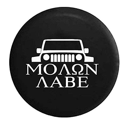 molon labe jeep tire cover - 2