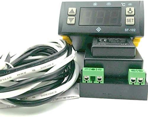 SF-102 Controlador electrónico de Temperatura Digital Pantalla ...