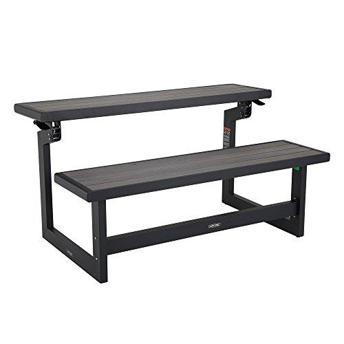 Lifetime 60253 Convertible Bench, Harbor Gray