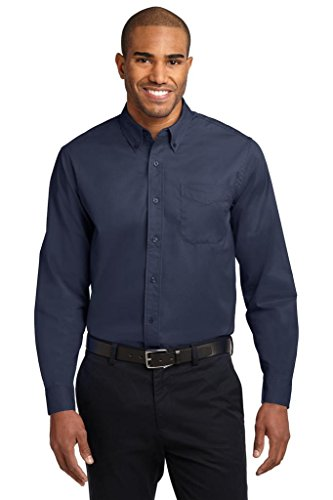 Men's Long Sleeve Wrinkle Resistant Easy Care Shirts in Regular, Big & Tall
