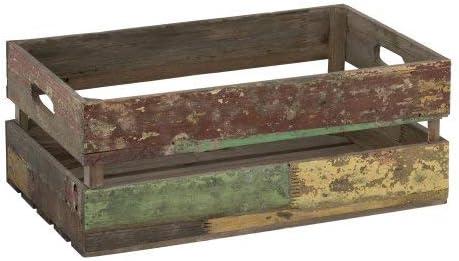 Renoir - Set 3 Cajas de Madera - Grande, Mediana, Pequeño - Caja de Regalo - Estilo Rústico: Amazon.es: Hogar