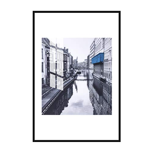 - MOTINI Acrylic Print Wall Art of Venice Canal 24