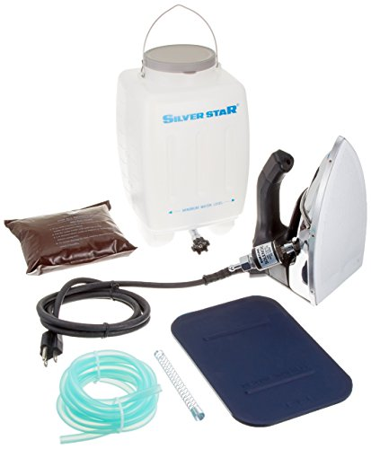 Gravity- Feed Steam Iron ~ Silver star ES-90