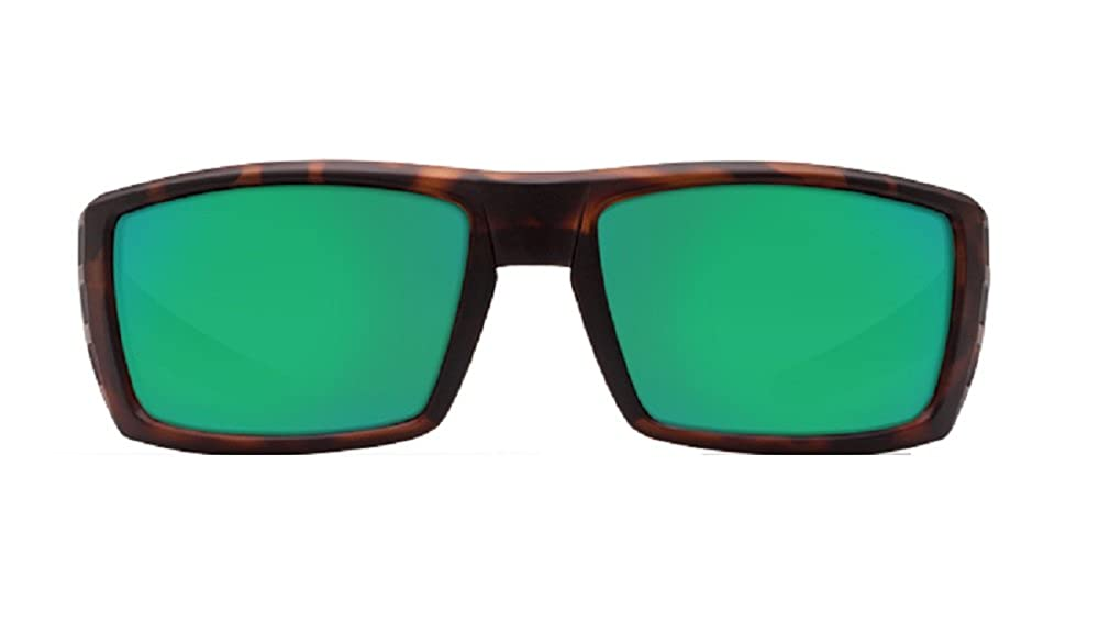 a147fa1abe Amazon.com  Costa Del Mar Rafael 580G Retro Tortoise  Green Polarized  Sunglasses  Clothing