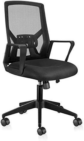 East Oak Folding Ergonomic Home Office Desk Chair