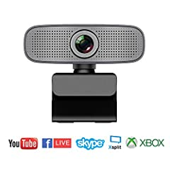 Full HD 1080P Video Recording: Record vibrant HD 1080p video clips that capture the smallest details. Get fast, smooth uploads with less demand on your computer.Clear Stereo Audio: Make sure everyone hears the real you. Two microphones, one o...