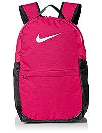 Nike Brasilia - Mochila de diseño Duradero y Almacenamiento Seguro, para niños