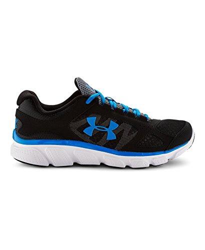 Under Armour Boys' Grade School Micro G® Assert V Running Shoes 4 Black