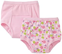 green sprouts by i play. Training Underwear, Pink Dot, 4T (Pack of 2)