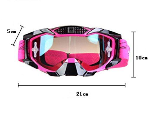 Prueba a Gafas a esquí Material Caballo de Montar explosiones de y Libre Prueba C al Polvo Aire PC a Impermeable AzzrZxnv