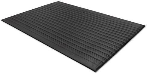 Guardian 24020302 Air Step Antifatigue Mat, Polypropylene, 24 x 36, Black
